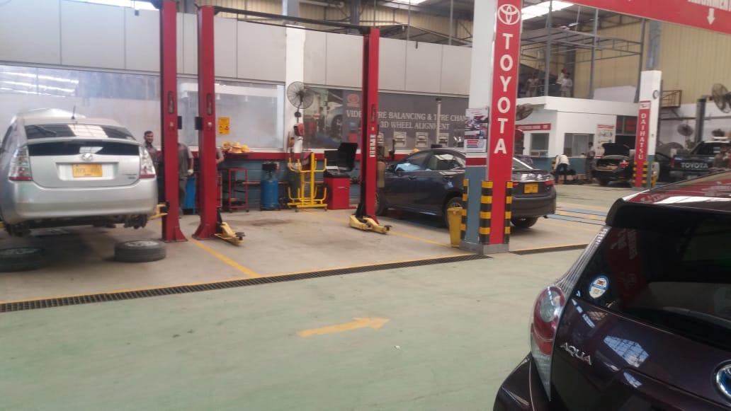 Toyota Eastern Motor Showroom, Karachi - N H Enterprises (Protector)